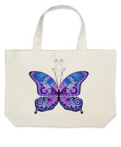 butterfly violet torba